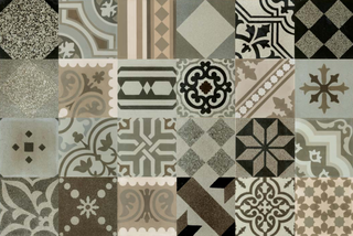 Apavisa Hydraulic Patchwork Natural