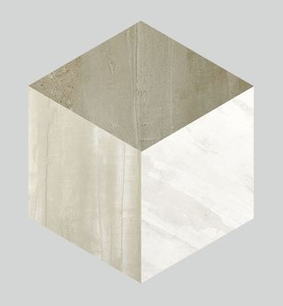 Apavisa Forma Taupe Patinato Hexagono Decor