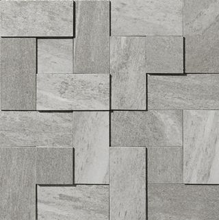 Apavisa Materia Grey Natural Mosaico Brick