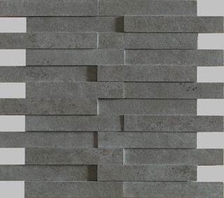 Apavisa Evolution Anthracite Striato Mosaico Brick