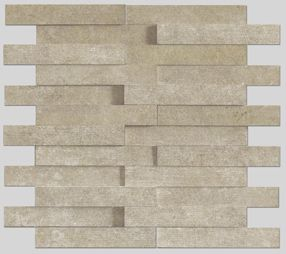 Apavisa Evolution Beige Striato Mosaico Brick