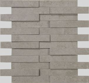 Apavisa Evolution Grey Striato Mosaico Brick