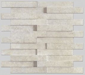 Apavisa Evolution Ivory Striato Mosaico Brick