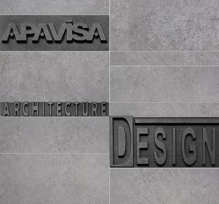 Apavisa Anarchy Grey Natural Mosaico Plane Letters