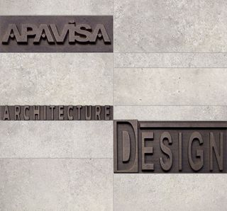 Apavisa Anarchy Ivory Natural Mosaico Letters
