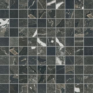 Cerim Timeless Black Deep Mosaico Naturale