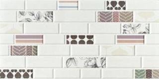 Imola Ceramica Mash-Up Mash-Brick Mix 36