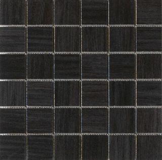 Novabell Natural wood Wenge Black Mosaico