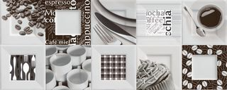 Ibero B&W Decor Buffet
