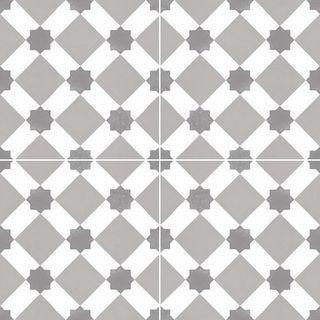 Dual Gres Chic Collection напольная плитка Howard Grey 45*45