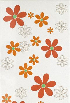 Aleluia Ceramicas Orion Decor Branco Flores 1