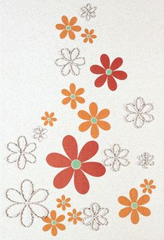 Aleluia Ceramicas Orion Decor Branco Flores 2