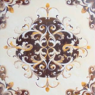 Infinity ceramic Emperador Decor 1