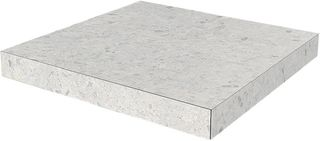 Kerama Marazzi Терраццо Glued Corner Step Terrazzo Light Grey