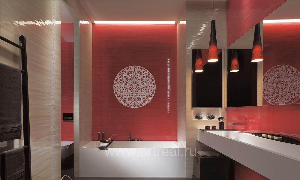 Бордовая ванная: особенности оформления, фото дизайна