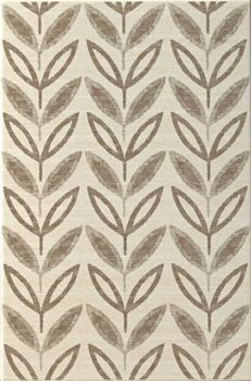 Rex Patterns Patterns Ivory Leaves