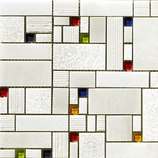 Vives Blanco Brillo Mosaico Taki Blanco