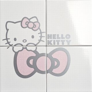Gamma due Hello kitty панно Classic Cucu Pink CP A/4 40*40