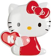 Gamma due Hello kitty декор Pop Up C Red 7*7