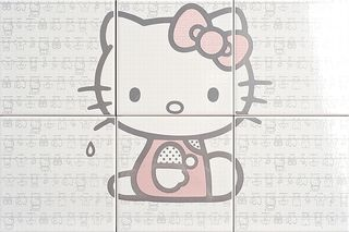 Gamma due Hello kitty Laundry Pink CP A/6 PZ.