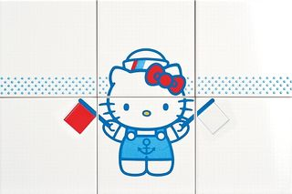 Gamma due Hello kitty Navy Flags CP A/6
