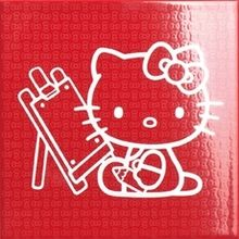 Gamma due Hello kitty School Blackboard