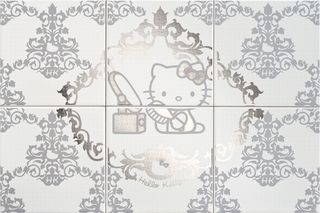 Gamma due Hello kitty Damask Beauty Silver CP A/6