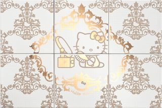 Gamma due Hello kitty Damask Beauty Gold CP A/6