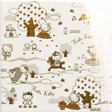 Gamma due Hello kitty Toile Toilepaper Gold