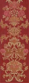 Mapisa Stariy Arbat декор Stariy Arbat Decore Flower Red 25.3*70.6