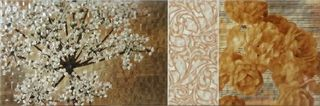 Kerlife Mosaic Lux декор Decor Savoy Crema 60*20