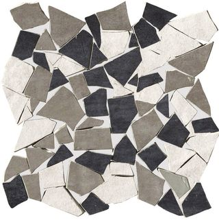 Cir & Serenissima Cotto Vogue мозаика Mosaico Spaccatella Mix Grigio 30*30