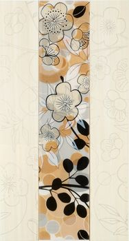 Fanal Flowers декор Decorado flowers beige 32*60