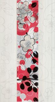 Fanal Flowers декор Decorado flowers rojo 32*60
