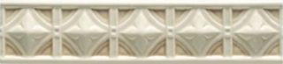 Ceramiche Grazia Essenze бордюр Neoclassico Magnolia Craquele 6*26