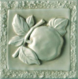 Ceramiche Grazia Essenze декор Apple Felce Craquele 13*13