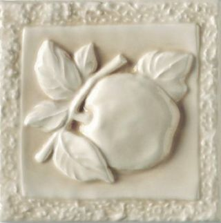Ceramiche Grazia Essenze декор Apple Magnolia Craquele 13*13