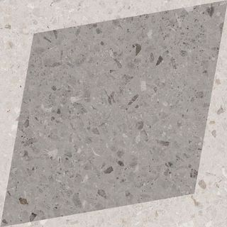 Wow Drops Natural Drops Rhombus Decor Grey