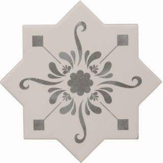 Cevica Becolors Star Dec. Stencil Grey