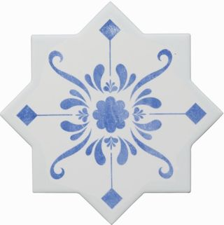 Cevica Becolors Star Dec. Stencil Electric Blue