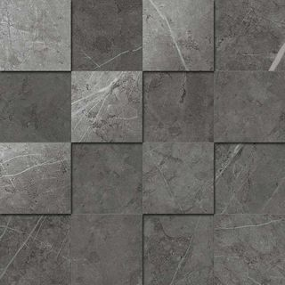 Italon Charme Evo Floor Project Antracite Mosaico 3D
