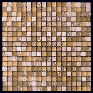 Natural Mosaic Mix Glass & Stone 8BD-0157
