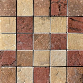 Cir & Serenissima Quarry Stone Mosaico Mix Light (Amber, Sand, Terra)