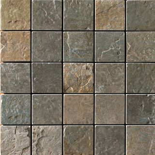 Cir & Serenissima Quarry Stone Mosaico Mix Dark (Forest, Slate)