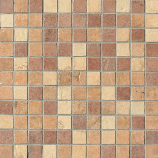 Cir & Serenissima Quarry Stone Mosaico Tessera Mix Light