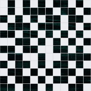 Nobilia Fortune Damasco Mosaico White-Black