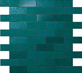 Мозаика Petroleum Green MiniBrick 30.5*30.5