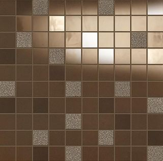 Emil Ceramica La Musique мозаика Brown Mosaico Basic 31.5*31.5