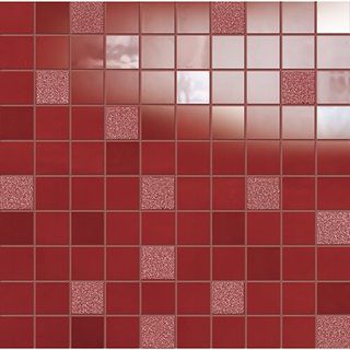 Emil Ceramica La Musique мозаика Red Mosaico Basic 31.5*31.5