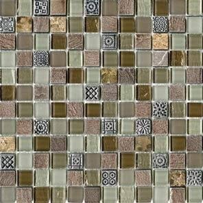 L'antic Colonial Mosaico мозаика Tecno Glass Country 2,1x2,1 29.6*29.6